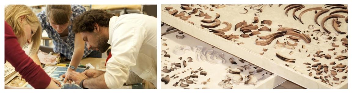 Atelier Beyssac - Pierre-Henri Beyssac -Marqueterie  MOF Meilleur Ouvrier de France Gardanne ( Aix en Provence Bouches du Rhone ) Région PACA (2)